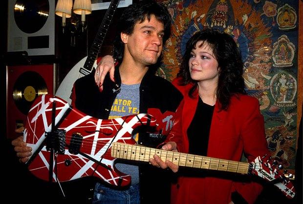Eddie Van Halen and Valerie Bertinelli