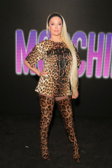 Erika Jayne Moschino x The Sims Party, Coachella Valley Music and Arts Festival, Weekend 1, Day 2, Indio, USA - 13 Apr 2019 Wearing Moschino