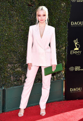Dove Cameron 45th Annual Daytime Creative Arts Emmy Awards, Arrivals, Los Angeles, USA - 27 Apr 2018 WEARING ADEAM