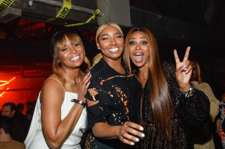 Exclusive - Marlo Hampton, NeNe Leakes and Cynthia Bailey Exclusive - Rolling Stone LIVE: Atlanta's Big Game Bash presented by Mercedes-Benz USA in partnership with LDV Hospitality, Inside - 02 Feb 2019
